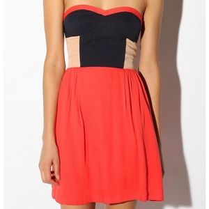 Urban Outfitters Strapless Dress